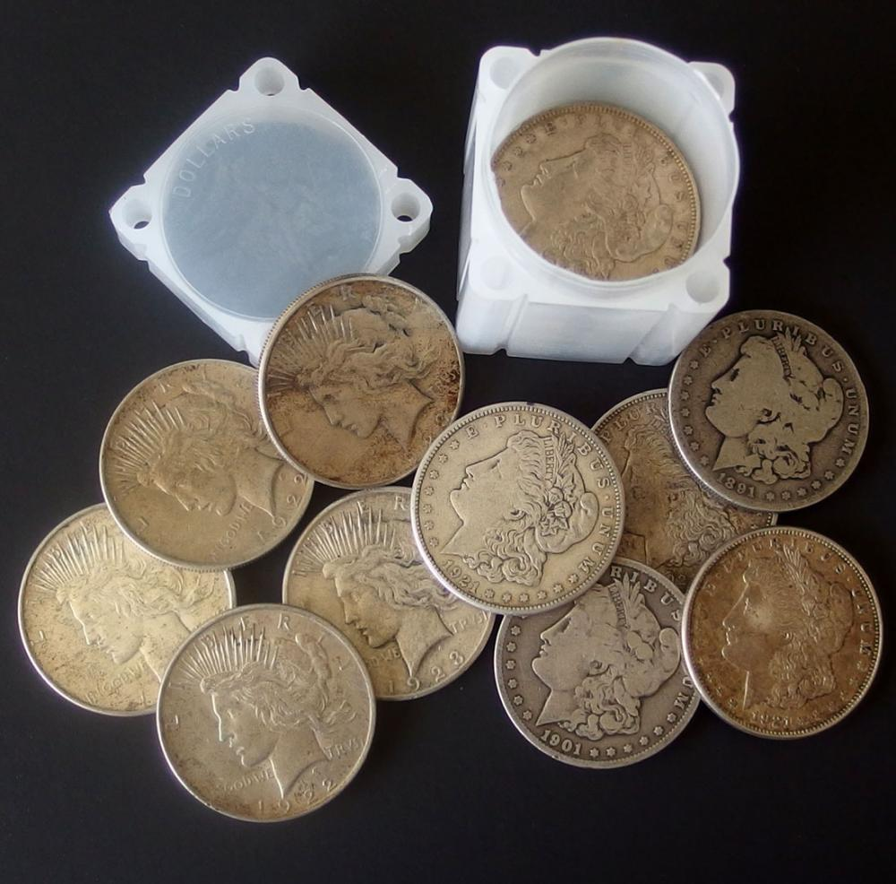 SILVER DOLLAR COINS (20)