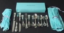 12 PIECE TIFFANY & CO. STERLING FLATWARE SET