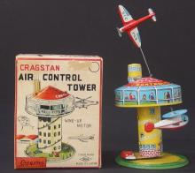 CRAGSTAN AIR CONTROL TOWER TOY OB