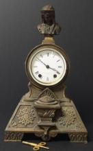 ANTIQUE NEO-CLASSICAL REVIVAL CLOCK