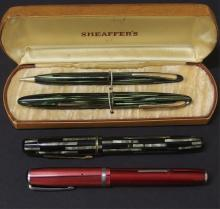 GROUP OF VINTAGE FOUNTAIN PENS