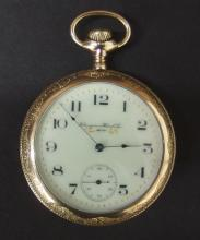 ANTIQUE HAMPDEN POCKET WATCH