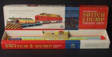 OHIO ART SWITCH & DUMP TRAIN SET MIB