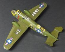 MARX WINDUP U.S. ARMY TOY AIRPLANE