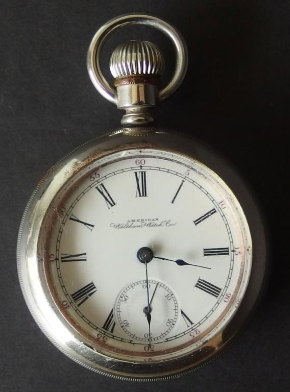 dating waltham antique pocket watch