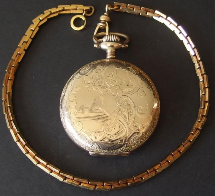 dating waltham pocket watches