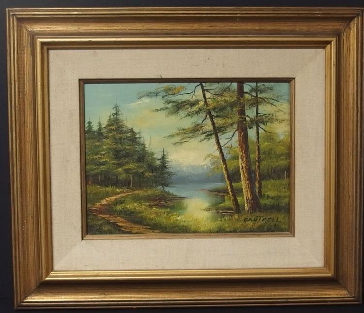 PHILLIP CANTRELL LANDSCAPE PAINTING