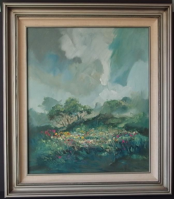 JOHN PLUMER LUDLUM ORIGINAL OIL PAINTING