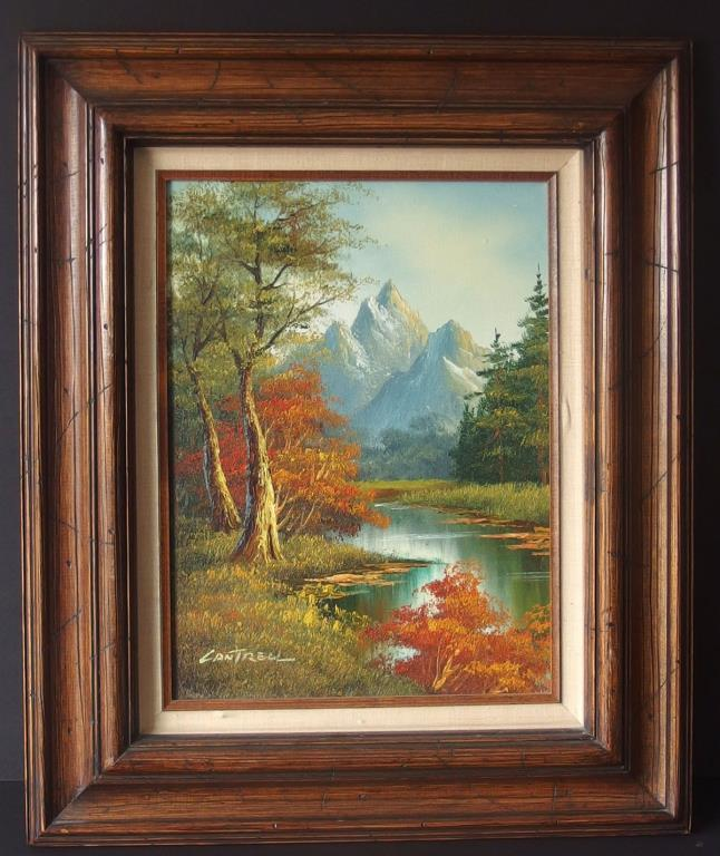 PHILIP CANTRELL LANDSCAPE PAINTING
