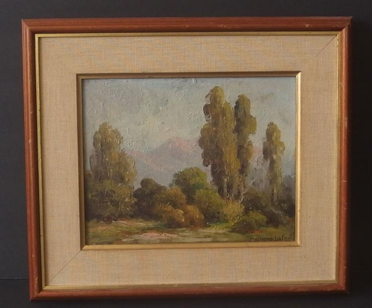 CHARLES RAYMOND LINFOOT LANDSCAPE PAINTING