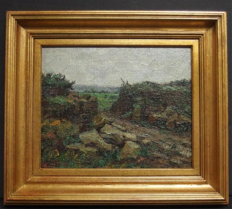 Watkins Oil Painting
