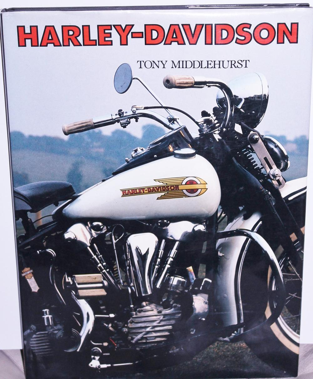 Lot 72: Harley-Davidson Hardcover – 1990 Tony Middlehurst