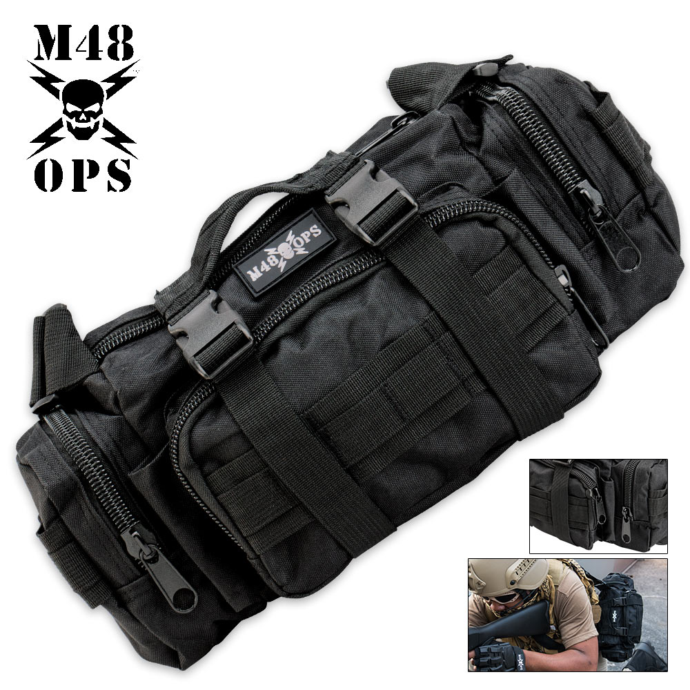 Lot 225: M48 OPS Tactical Response Pack