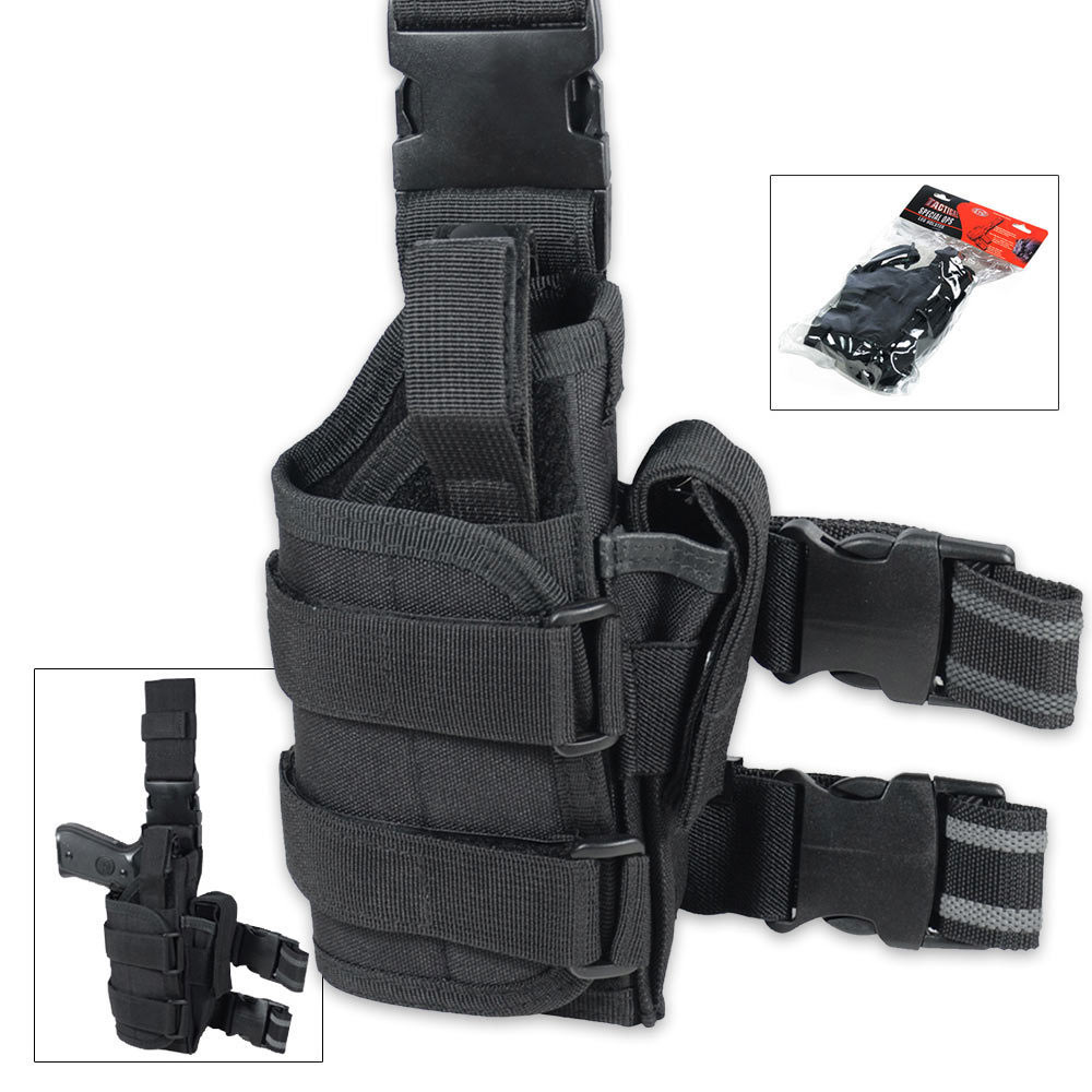 Lot 23: UTG Tactical Special Ops Leg Holster Black