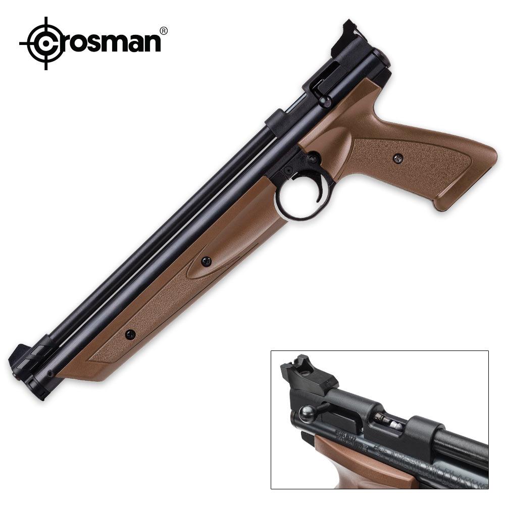 Lot 24: Crosman American Classic Brown Air Pistol