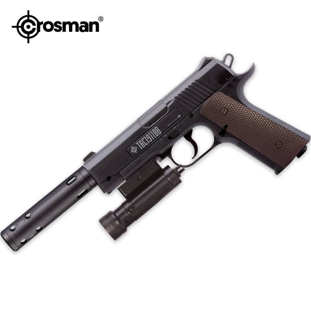 Lot 26: Crosman Semi-Auto Tactical Pistol