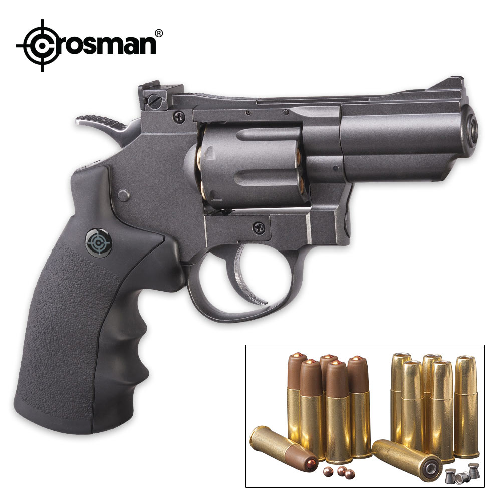 Lot 29: Crosman Dual Ammo Snub Nose Air Revolver