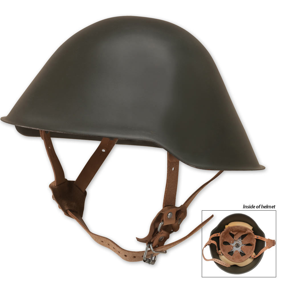 Lot 42: East German Steel Helmet