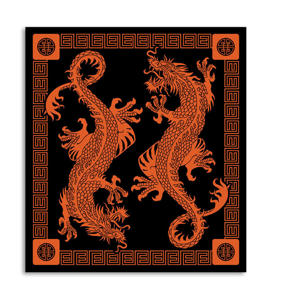 Lot 322: Red Dragon Tapestry