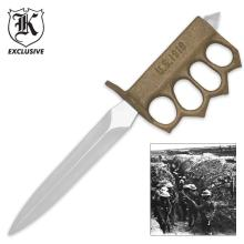 Lot 233: 1918 WWI Trench Knife Replica
