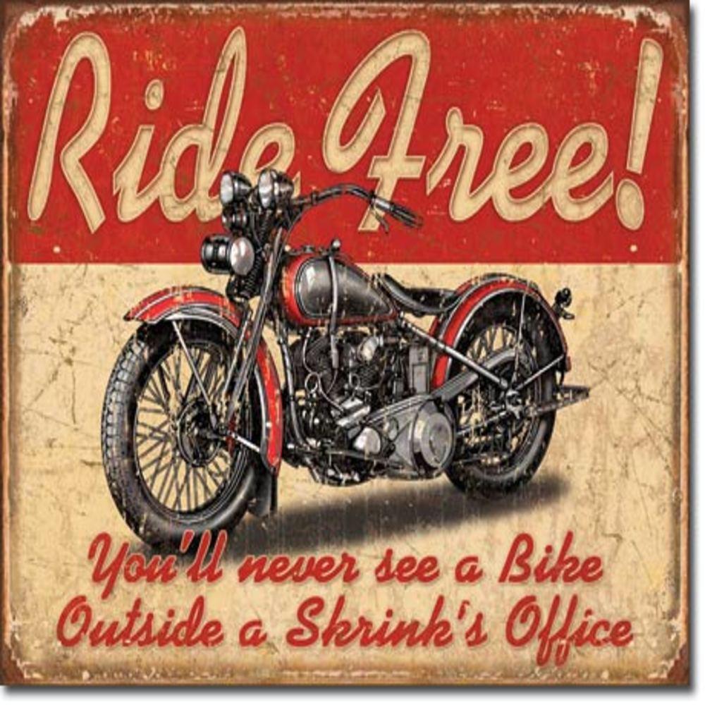 """Ride Free  16""""Wx12.5""""H  SKU # 1699"""