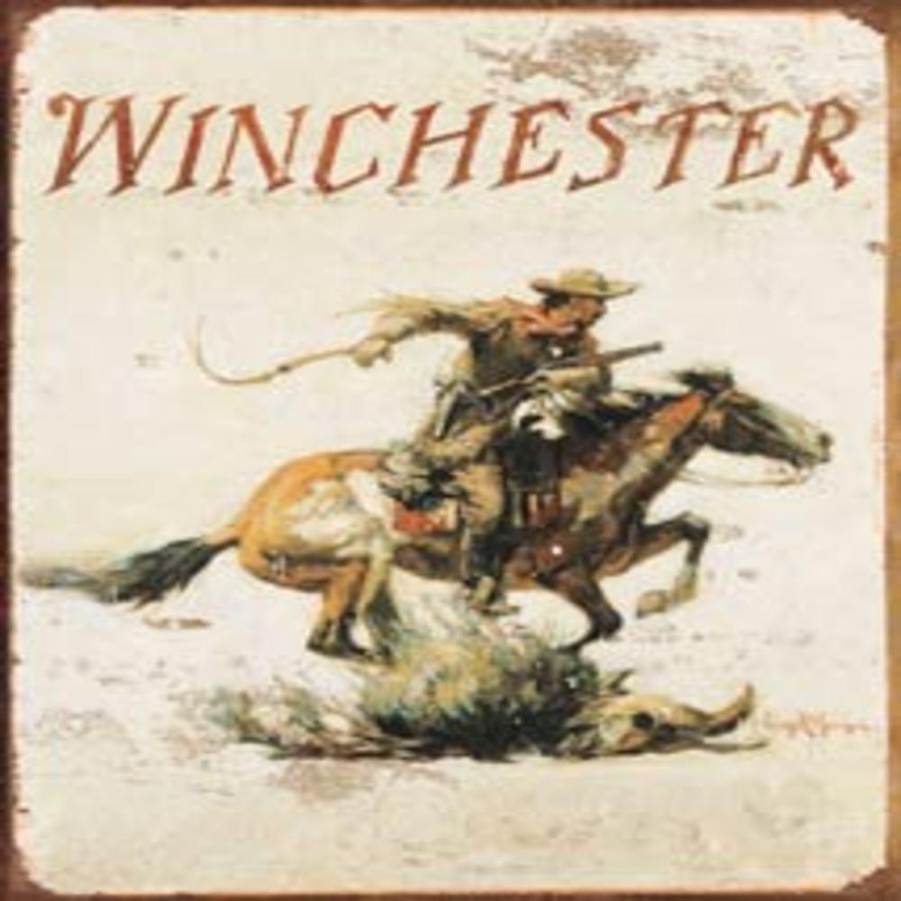 "Winchester Logo  12.5""Wx16""H  SKU # 1421"