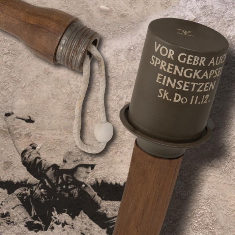 Lot 115: WWII-Era German Stick Grenade Replica