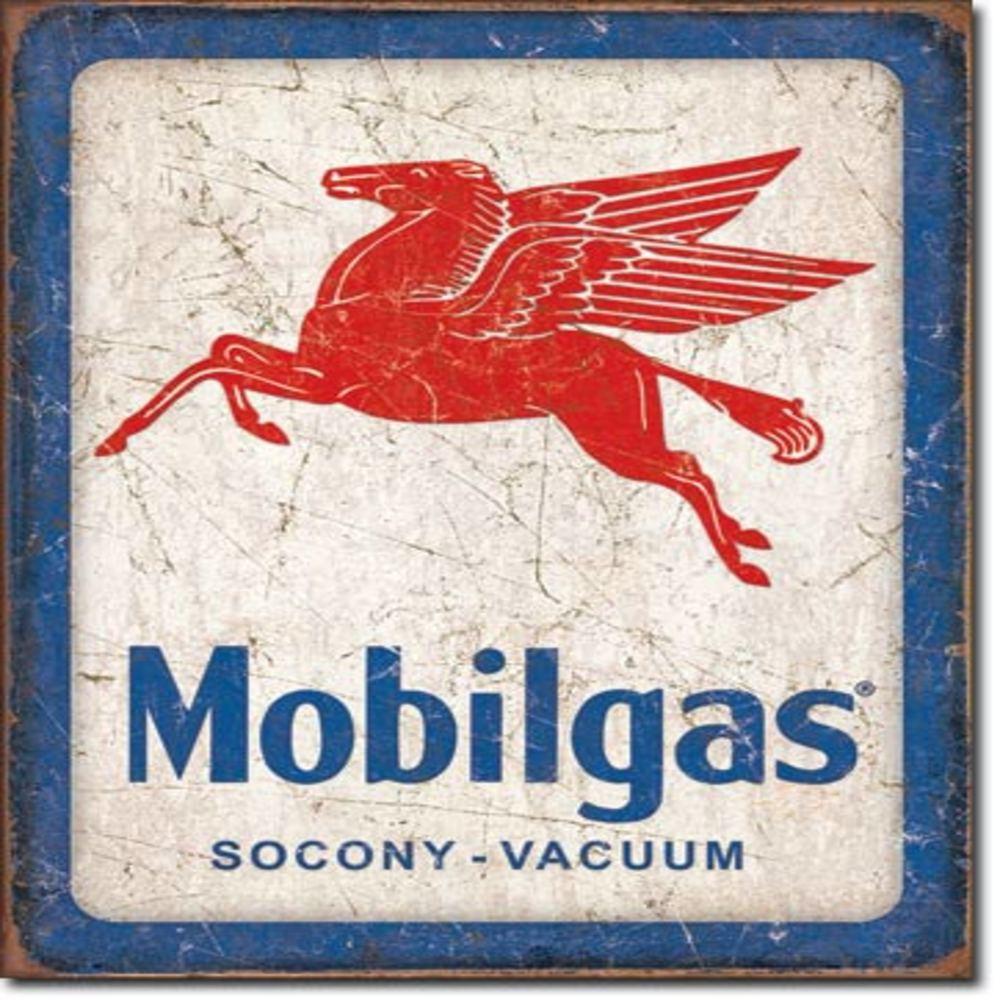 "Lot 252: Mobilgas Pegasus 12.5""Wx16""H SKU # 2167"