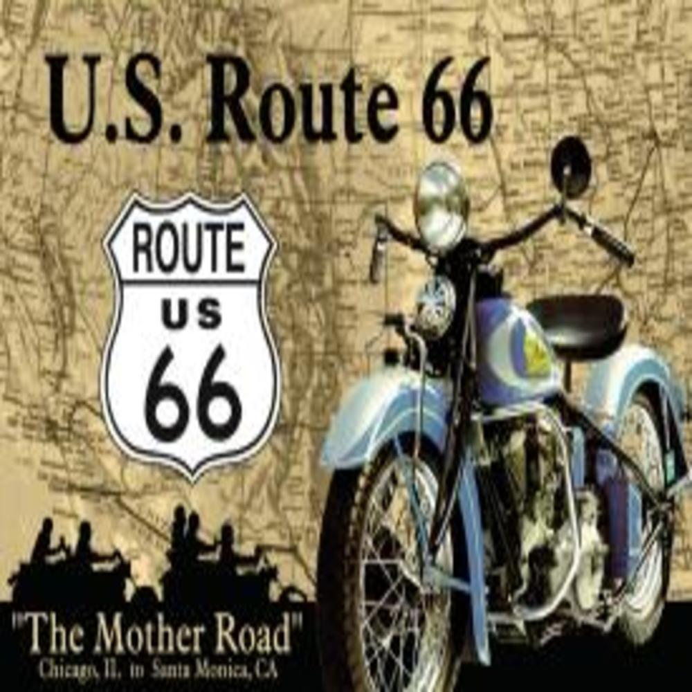 """The Mother Road  16""""W x 12.5""""H  SKU # 678"""