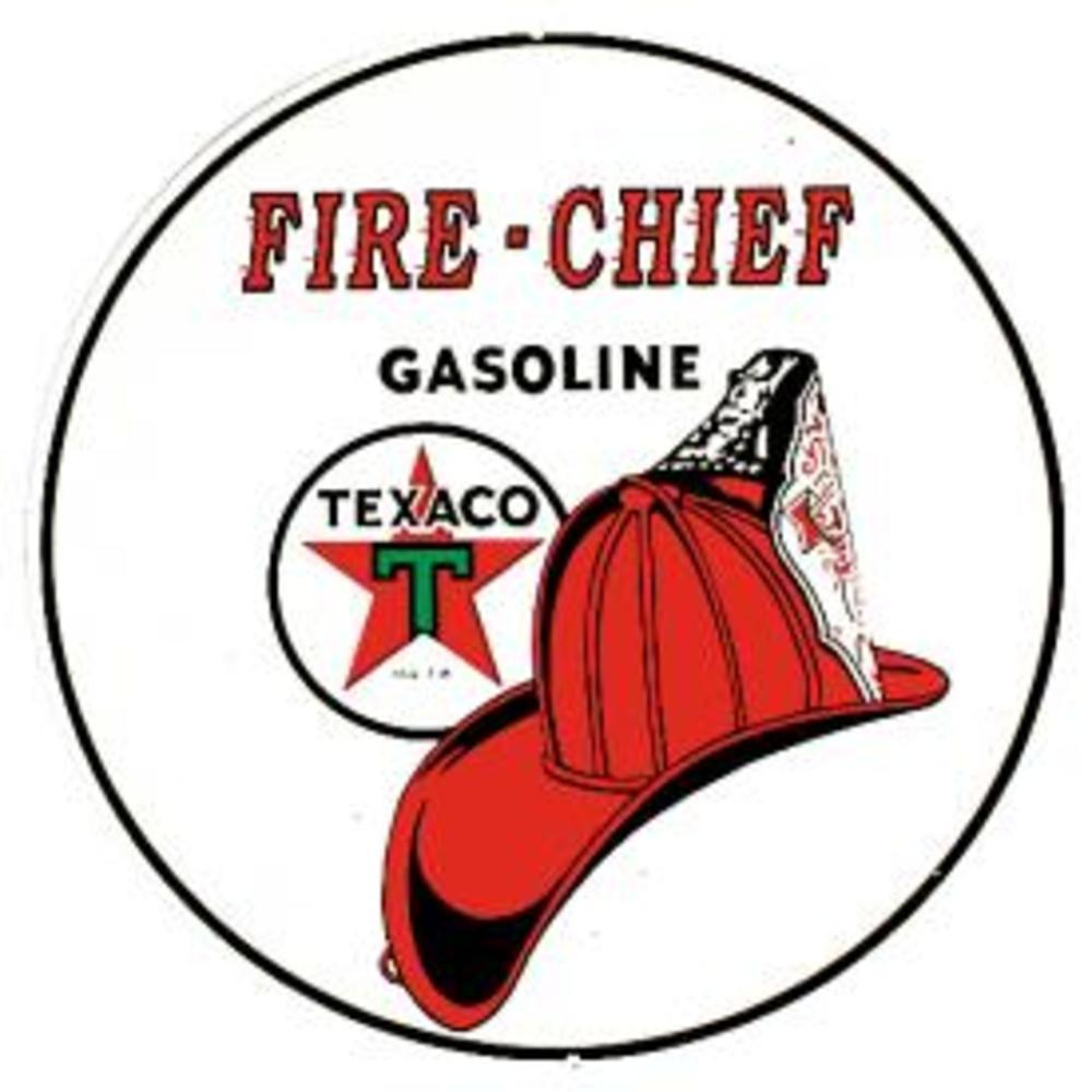 "Texaco/Fire Chief  11.75"" Dia.  SKU # 204"