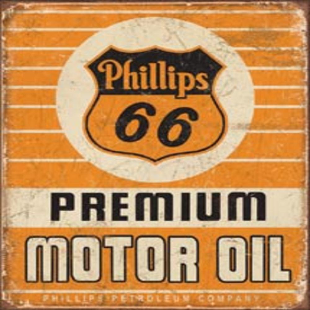 """Phillips 66 Premium Oil  12.5""""Wx16""""H  SKU # 1996"""