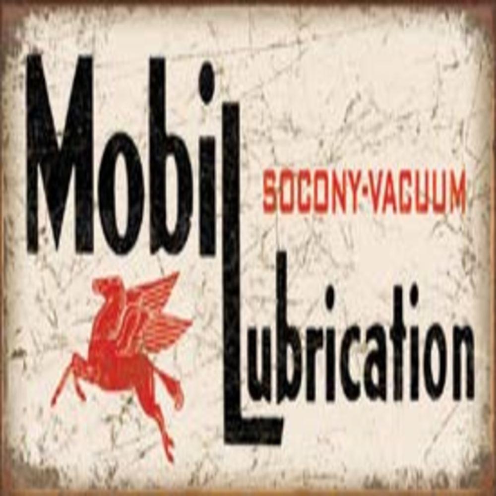 """Mobil Lubrication  16""""W x 8.5""""H  SKU # 2049"""