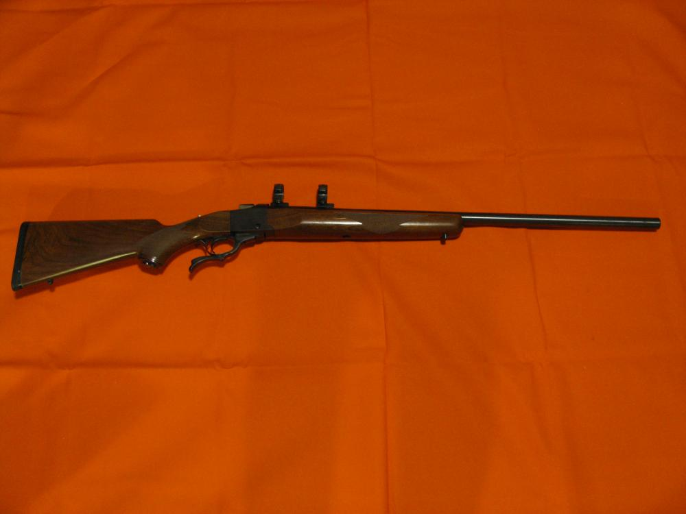 Lot 11: Ruger Number 1 Caliber 308 Mint Condition but used.
