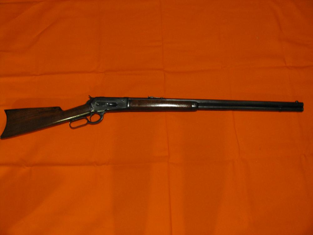 """1886 Winchester 45-90, Octogon 27"""" Barrel, Restored 30 years ago, new finish wood and metal. NOT A REPRODUCTION - AN ORIGINAL REFINISHED."""
