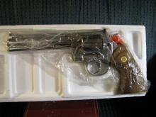 """Lot 18A: COLT PYTHON 357 Magnum, new in the box! 6"""" Ultra Stainless, Model I3061"""