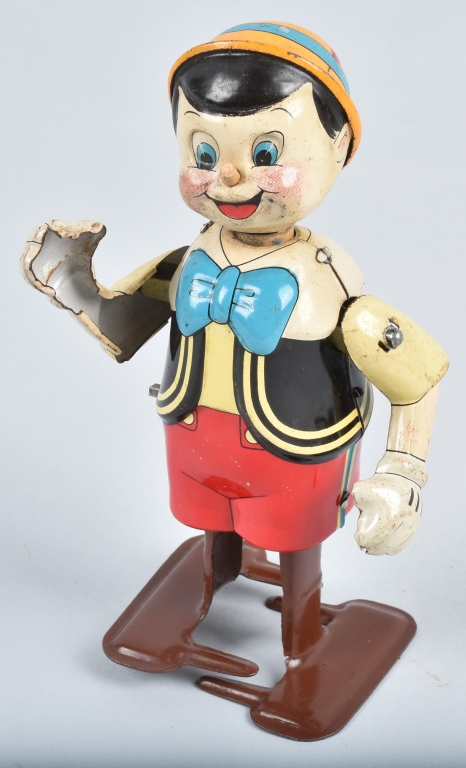 LINEMAR Tin Windup PINOCCHIO WALKER