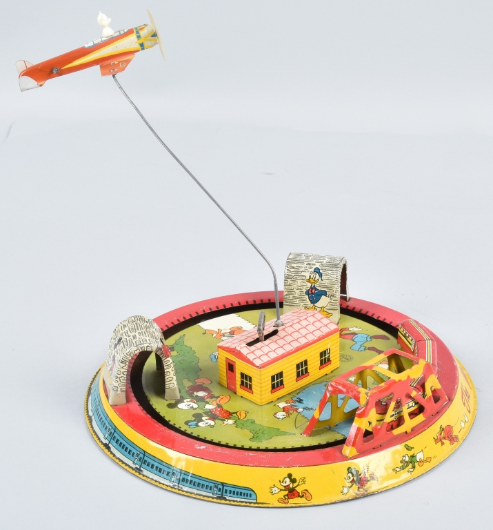 MARX Tin Windup MICKEY MOUSE EXPRESS