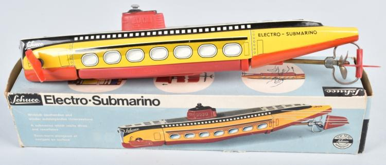 SCHUCO Battery Op ELECTO SUBMARINO w/BOX