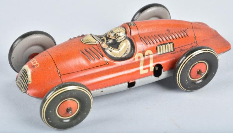 US ZONE GERMANY Tin Windup AUDI RACE CAR