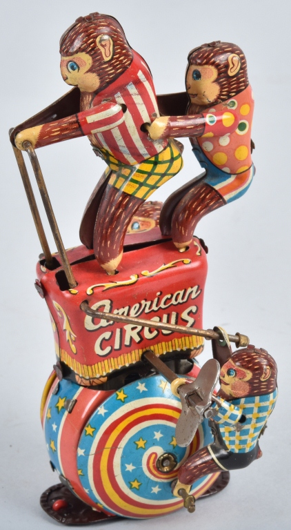 JAPAN Tin Windup AMERICAN CIRCUS
