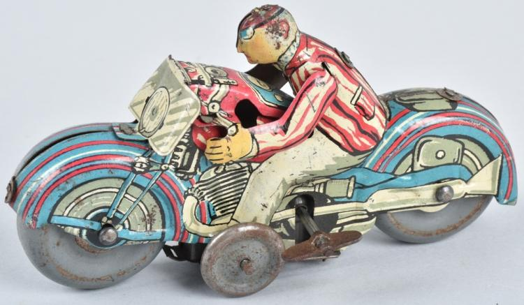 GREAT BRITAIN Tin Windup MOTORCYCLE