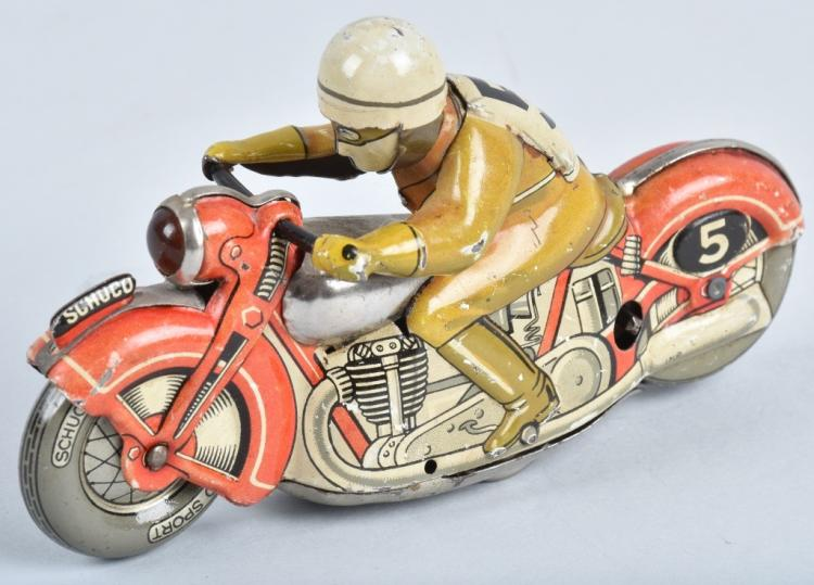 SCHUCO Tin Windup SPORT MOTORCYCLE