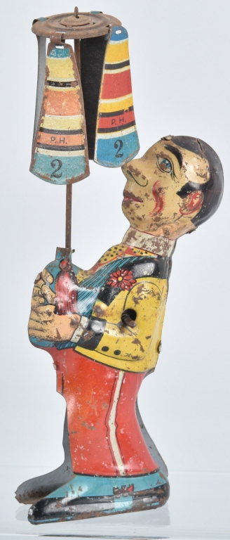 GERMAN Tin CLOWN WHIRLY GIG
