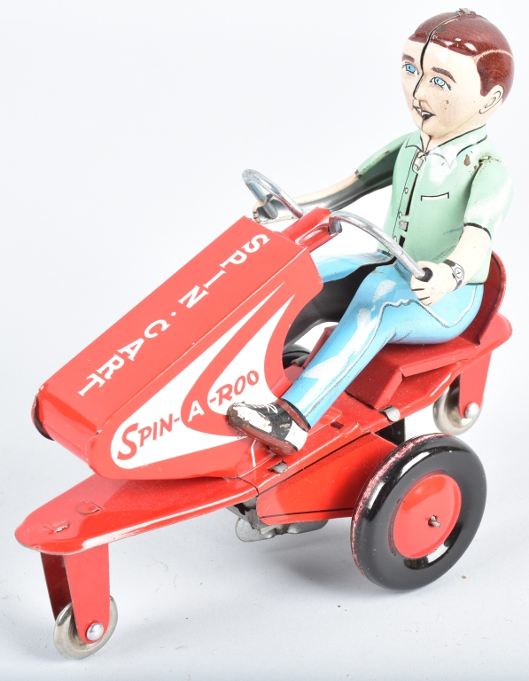 ALPS Tin Windup SPIN-A-ROO CART