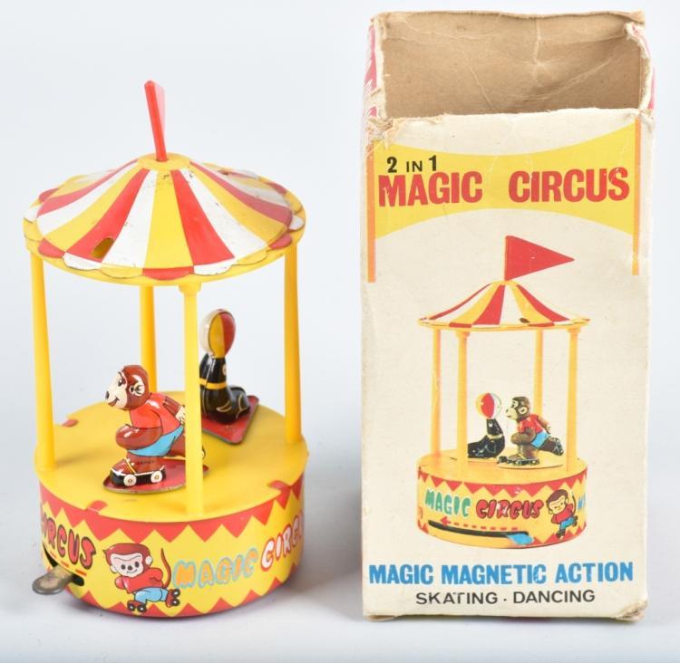 TPS Windup MAGIC CIRCUS w/ BOX