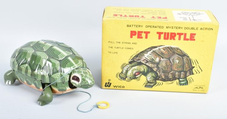 ALPS Battery Op PET TURTLE w/ BOX