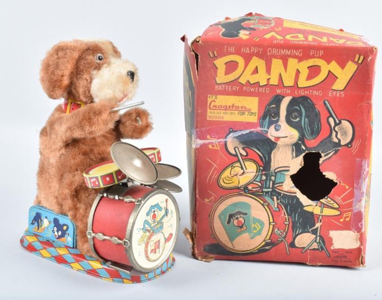 ALPS Battery Op DNANDY DOG DRUMMER w/ BOX