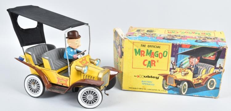 HUBLEY Battery Op MR MAGOO CAR w/ BOX