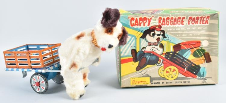 JAPAN Battery Op CAPPY BAGGAGE PORTER w/BOX