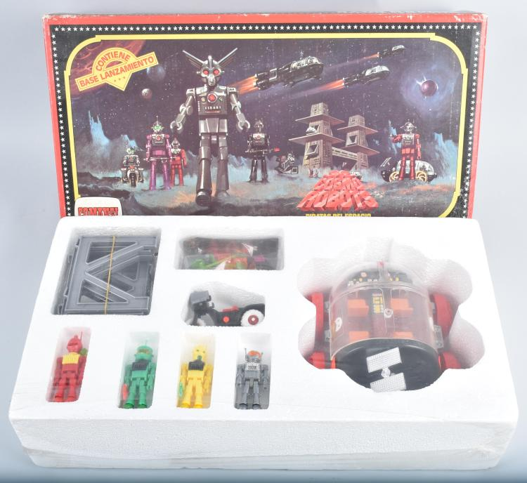 COMANSI COSMO ROBOTS w/ BOX